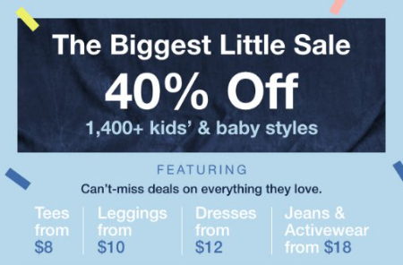 Gap The Biggest Little Sale The Mall At University Town Center Sarasota